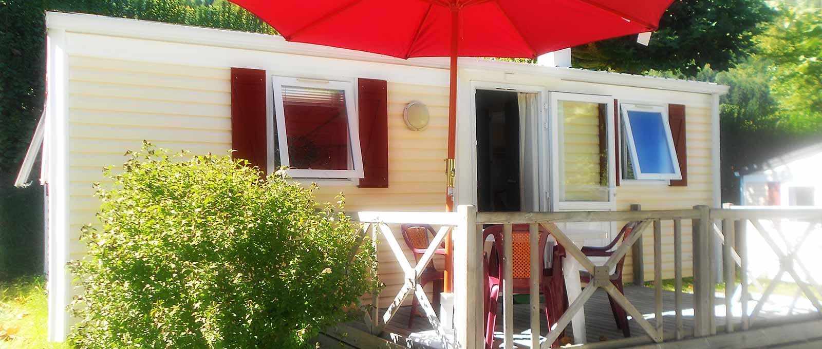 Location mobil home lac d 39 annecy h bergements camping for Home salon annecy